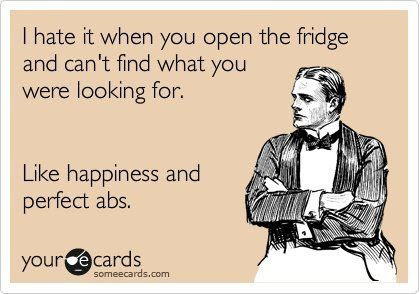 Nope, not in the fridge