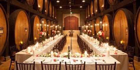 merryvale vineyards winery wedding guide