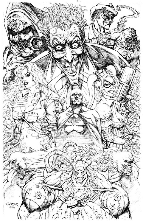 Comic Book Coloring Pages For Adults