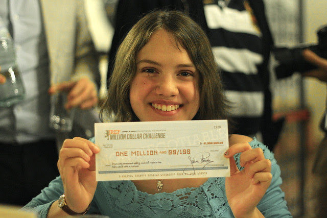 My daughter Lisa and Randi's Million Dollar Challenge