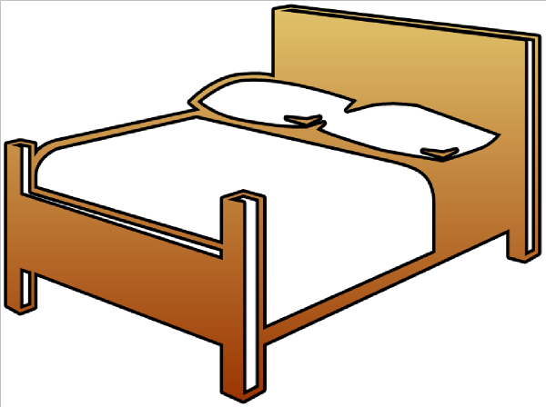 Fabulous Bed Clip Art 600 x 448 · 55 kB · png