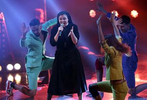 "Suor Cristina a ""The voice of Italy"""
