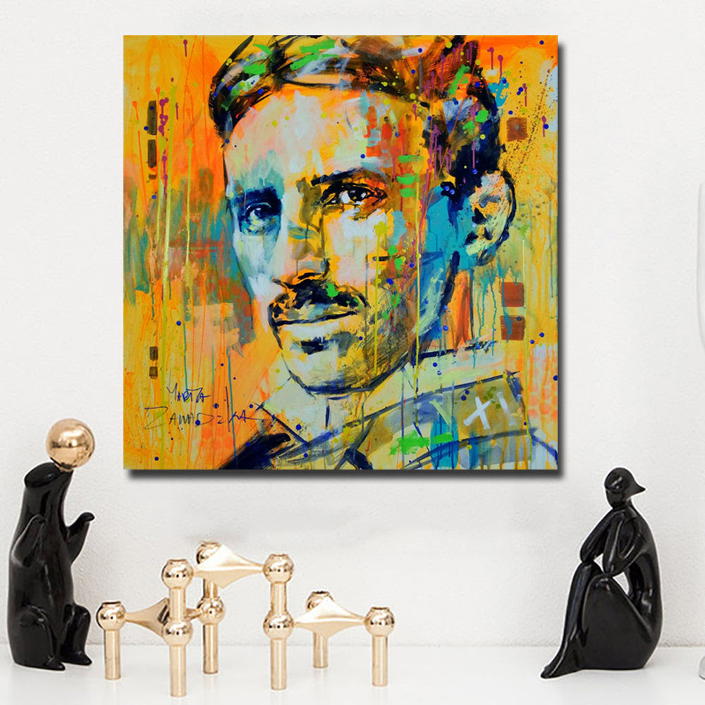 Graffiti Art Portrait Picture Wall Paintings Home Decorative Art Print Discount Canvas Print