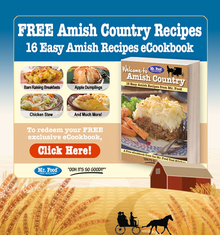The fun and modern twist on classic Amish recipes! Break out those pots and pans, because we're going to be doing some old fashion cooking. Influenced by the Amish culture, these recipes will be loved by everyone in your family due to their hearty and flavor-packed nature. Find tonight's dinner in this free eCookbook, Welcome to Amish Country: 16 Easy Amish Recipes.