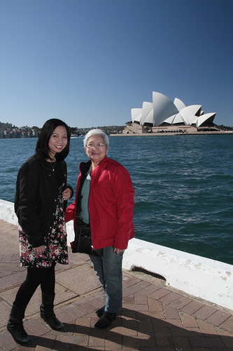 My Mom in Sydney 2010