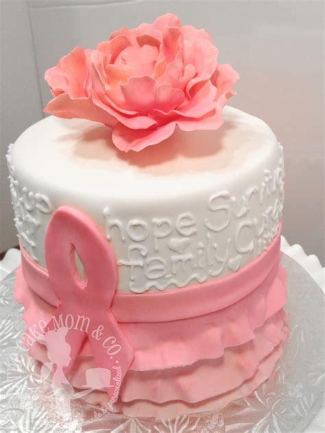 Pink Ribbon Breast Cancer Survivor Cake   CakeCentral.com