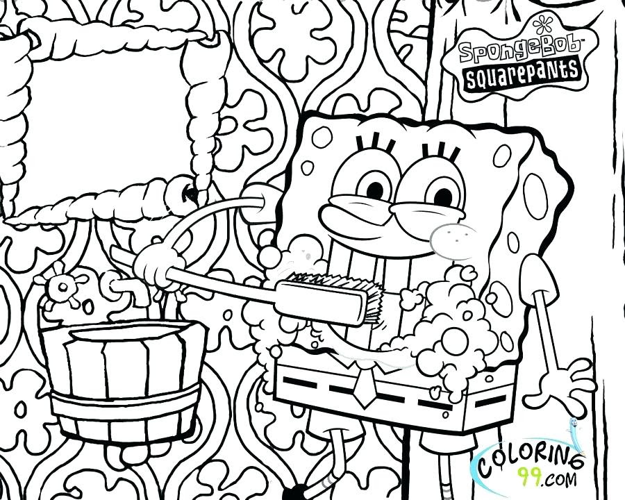 Spongebob Coloring Pages For Kids At Getdrawingscom Free For