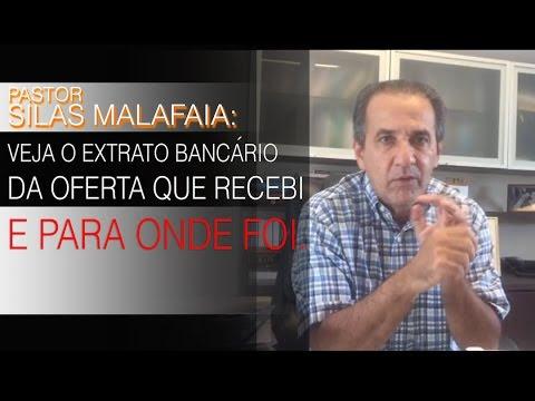 Silas Malafaia revela extrato bancário de dinheiro recebido (Defesa)