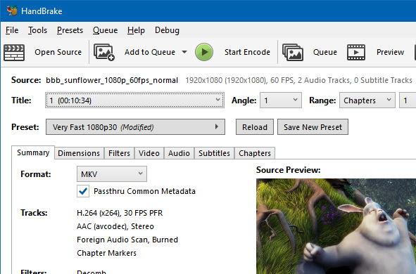 تحميل برنامج مجانى لتحويل صيغ الصوت والفيديو للايفون والايباد والايبود تاتش لنظام ويندوز وماك HandBrake 0.9.9