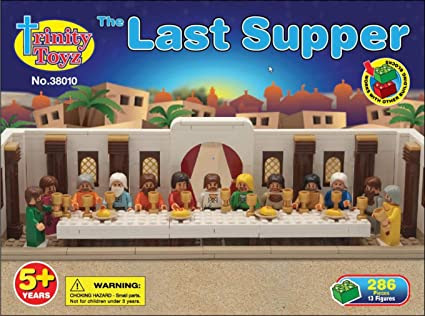 Trinity Toyz The Last Supper Building Block Set