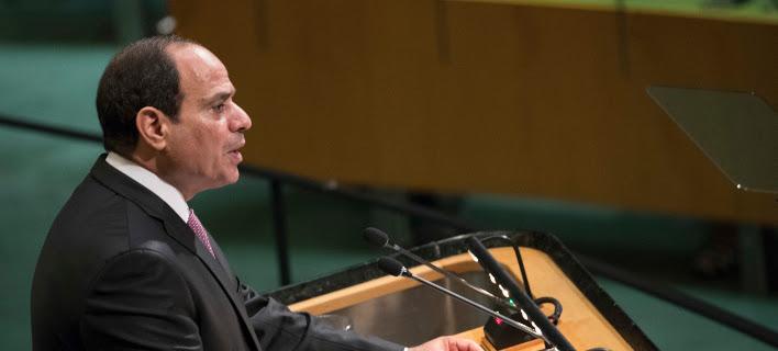 Αίγυπτος: Ο πρόεδρος Σίσι δήλωσε ότι «βρίσκεται σε επαφή» με Ισραηλινούς και Παλαιστίνιους