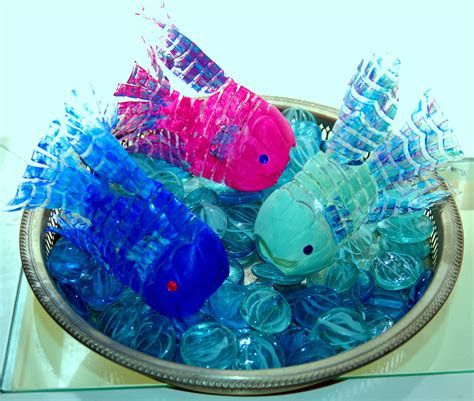 recycled water bottle fish water bottle crafts bottle