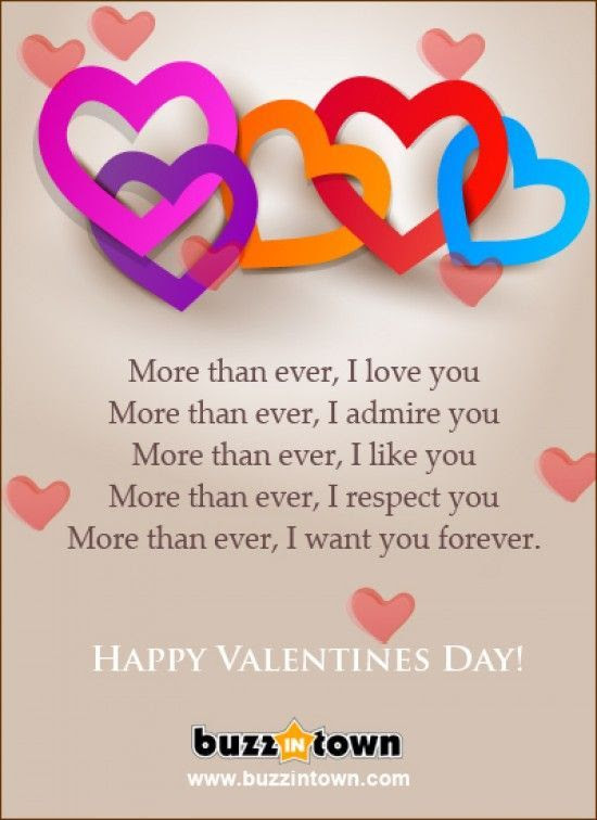 Happy Valentines Day I Love You More Than Ever Pictures Photos And