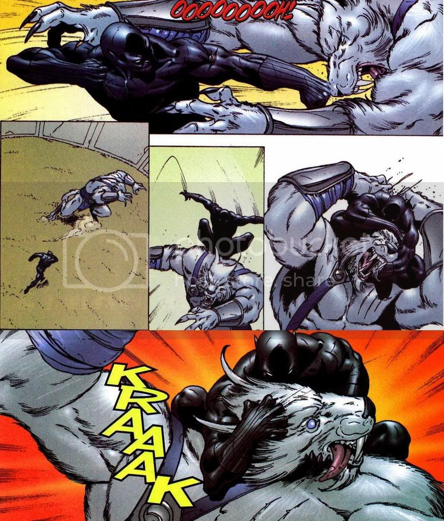 Pantera e Quarteto Fantástico contra Skrulls