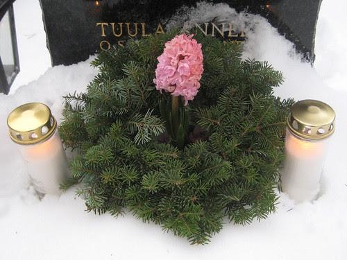 Joulu hautausmaalla