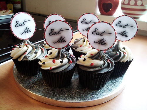 Mad Hatter Cupcakes - The Inky Kitchen
