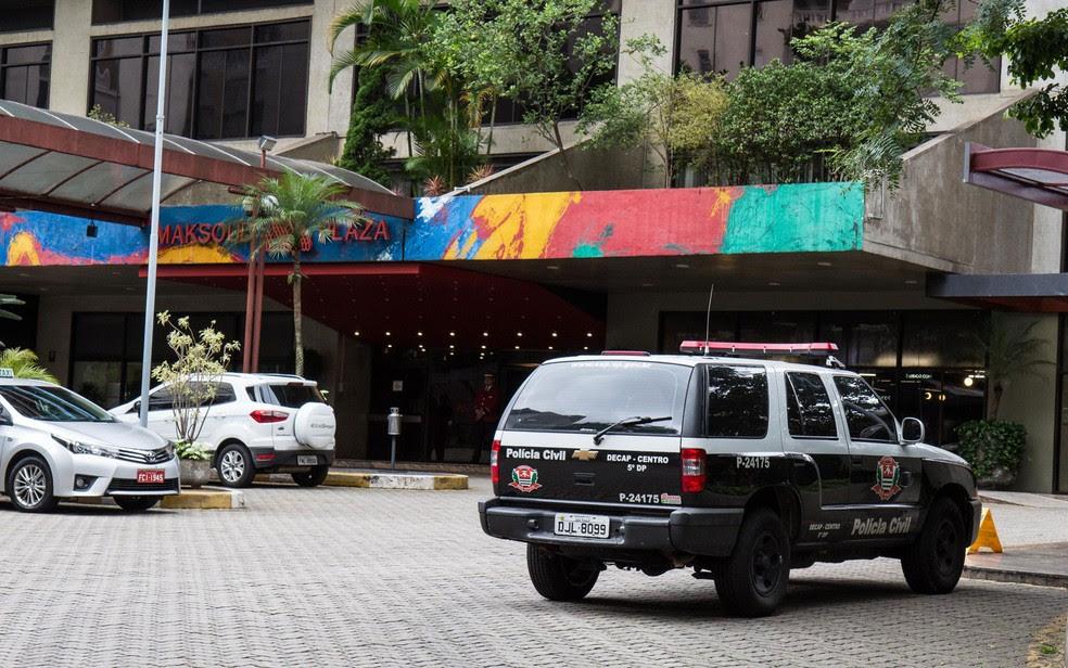 Corpos foram encontrados em apartamento do hotel Maksoud Plaza (Foto: Rogério de Santis/Futura Press/Estadão Conteúdo)