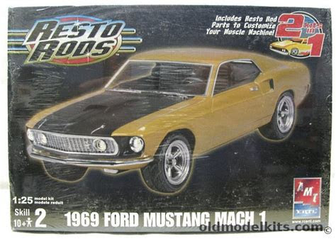 amt   ford mach  mustang coupe stock  resto