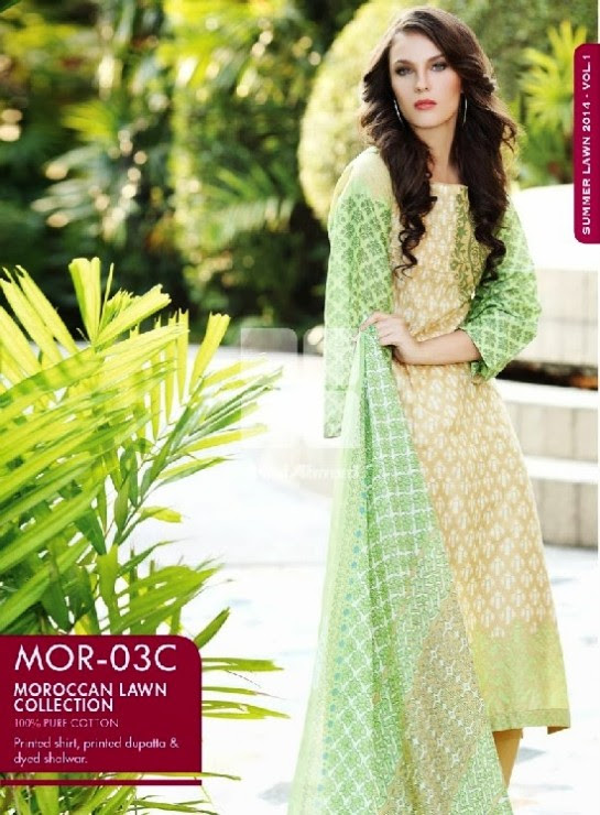 Girls-Wear-Summer-Dress-Chunri-Prints-Block-Prints-Embroidered-Single-Lawn-New-Fashion-Suits-by-Gul-Ahmed-5