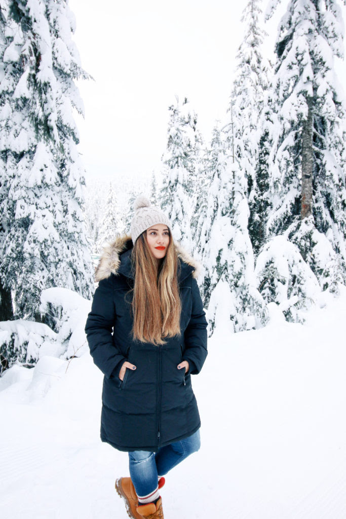 dressing for snow  alicia fashionista