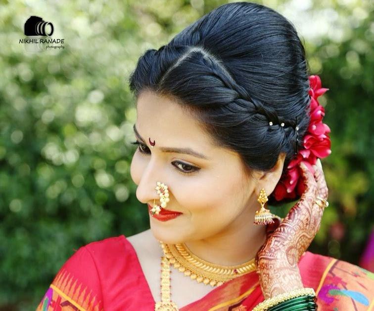 Wedding Hairstyle Maharashtrian: 53 MARATHI WEDDING BRIDAL HAIRSTYLE