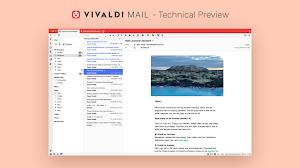Vivaldi aggiunge un client mail, un feed reader e un gestore di calendario