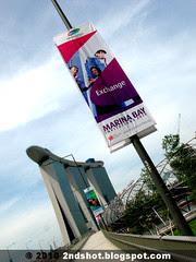 Marina Bay Sands from Bayfront Bridge