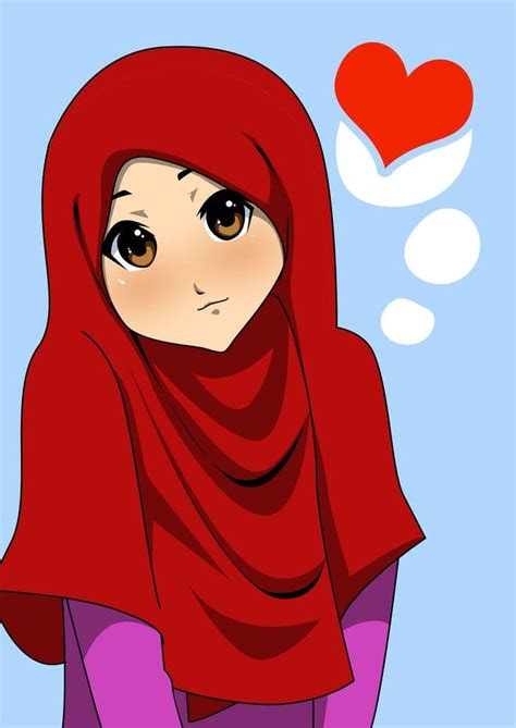 anime hijabs  islamic  pinterest