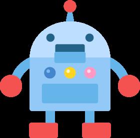 ロボットの無料ベクターイラスト素材 Picaboo ピカブー 無料