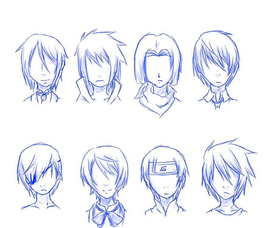 Astonishing Best Image Of Anime Boy Hairstyles Short Hairstyles Gunalazisus