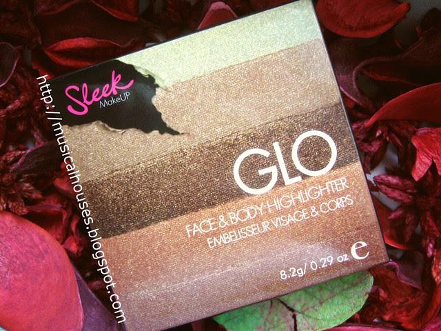 Sleek Glo Highlighter Peach Shimmer box