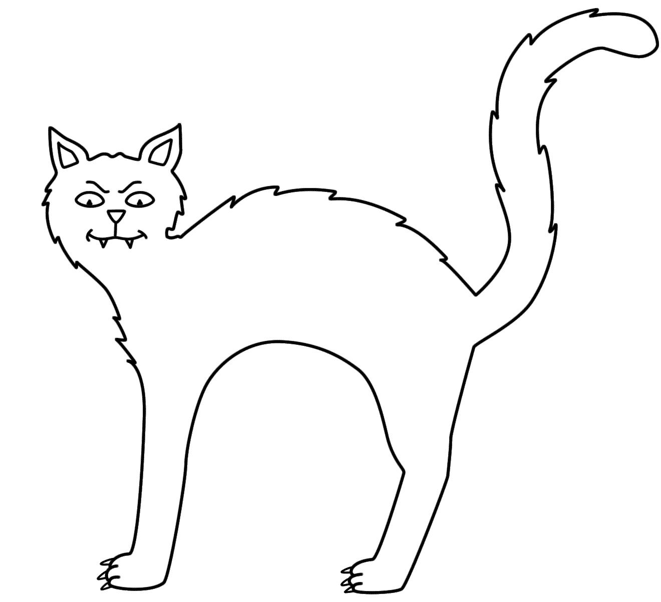 260 Dibujos De Gatos Para Colorear Oh Kids Page 26