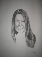 Self Portrait - charcoal on newsprint 2008