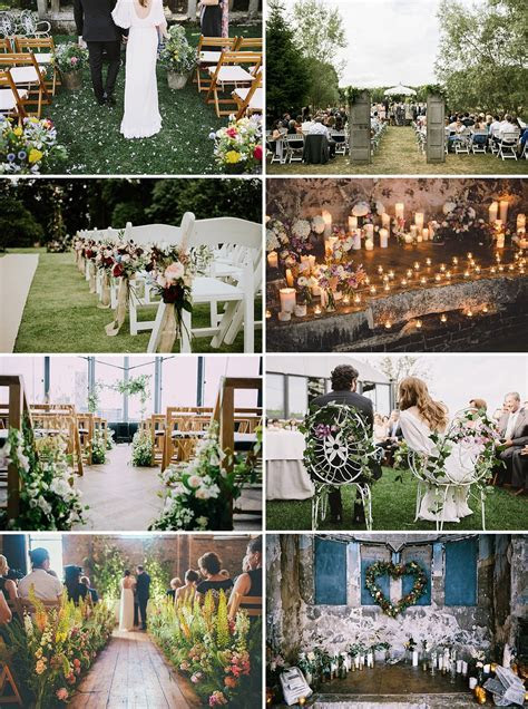 Beautiful And Unique Ways To Decorate Your Wedding Aisle