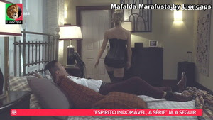 Mafalda MArafusta sensual na novela Quer o Destino