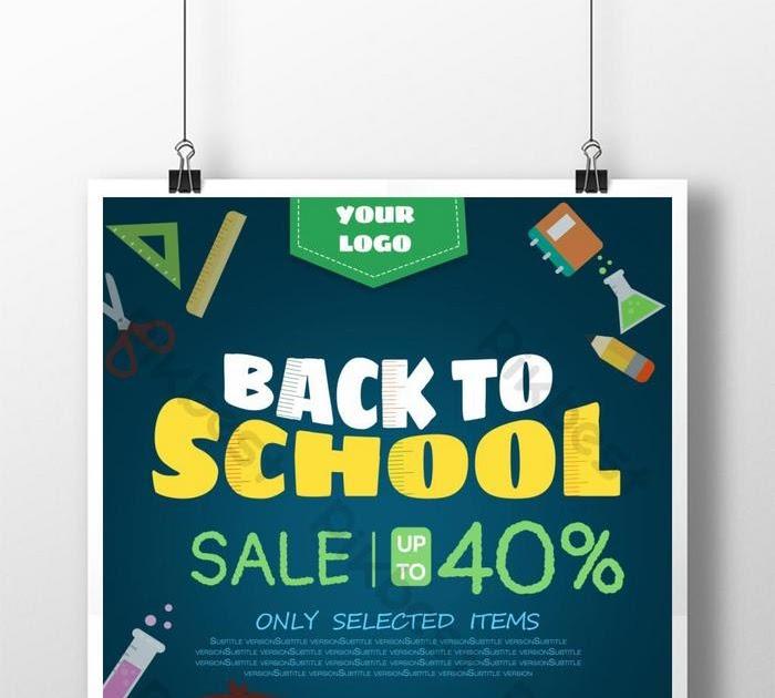 Contoh Banner Sekolah Model - desain spanduk keren