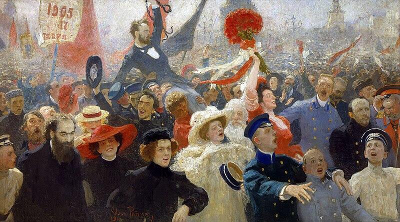 Repin, octubre de 1905