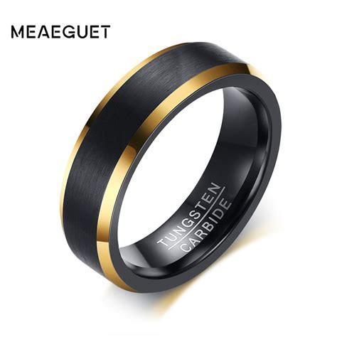 Aliexpress.com : Buy Meaeguet Black Gold Color Tungsten