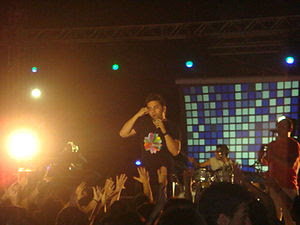 The group Onirama while performing during a Pi...
