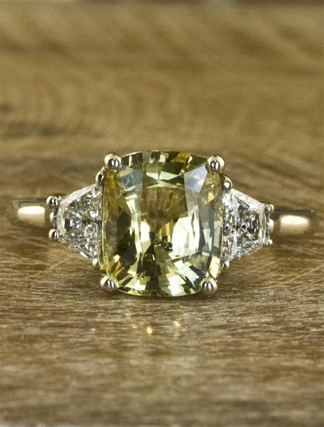 25  best ideas about Yellow sapphire rings on Pinterest