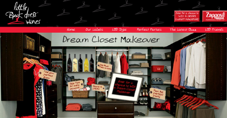 Little Black Dress Wines - Dream Closet Makeover