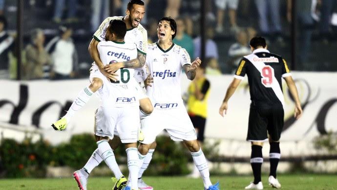 Leandro Pereira gol Palmeiras Vasco (Foto: Wilton Junior / Agência Estado)