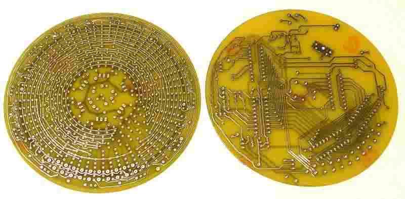 Đồng hồ led analog atmel-at89c2051p