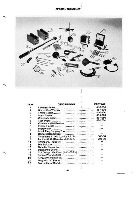 Toro 2 Cycle GTS 120 Engine Service Manual