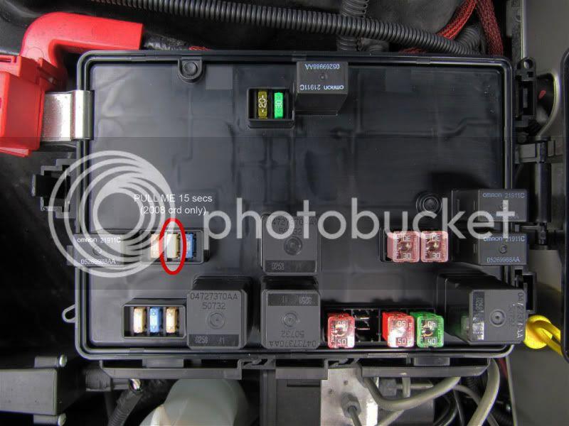 Fuse Box 07 Dodge Caliber