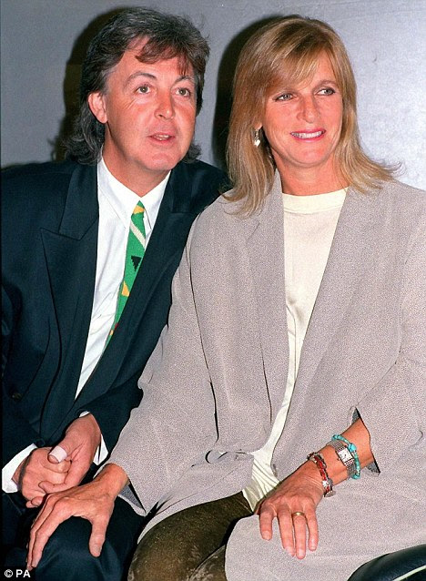 Sir Paul fell for Heather after losing his first wife Linda to cancer