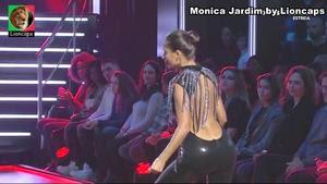 Monica Jardim sensual no Dança com Estrelas
