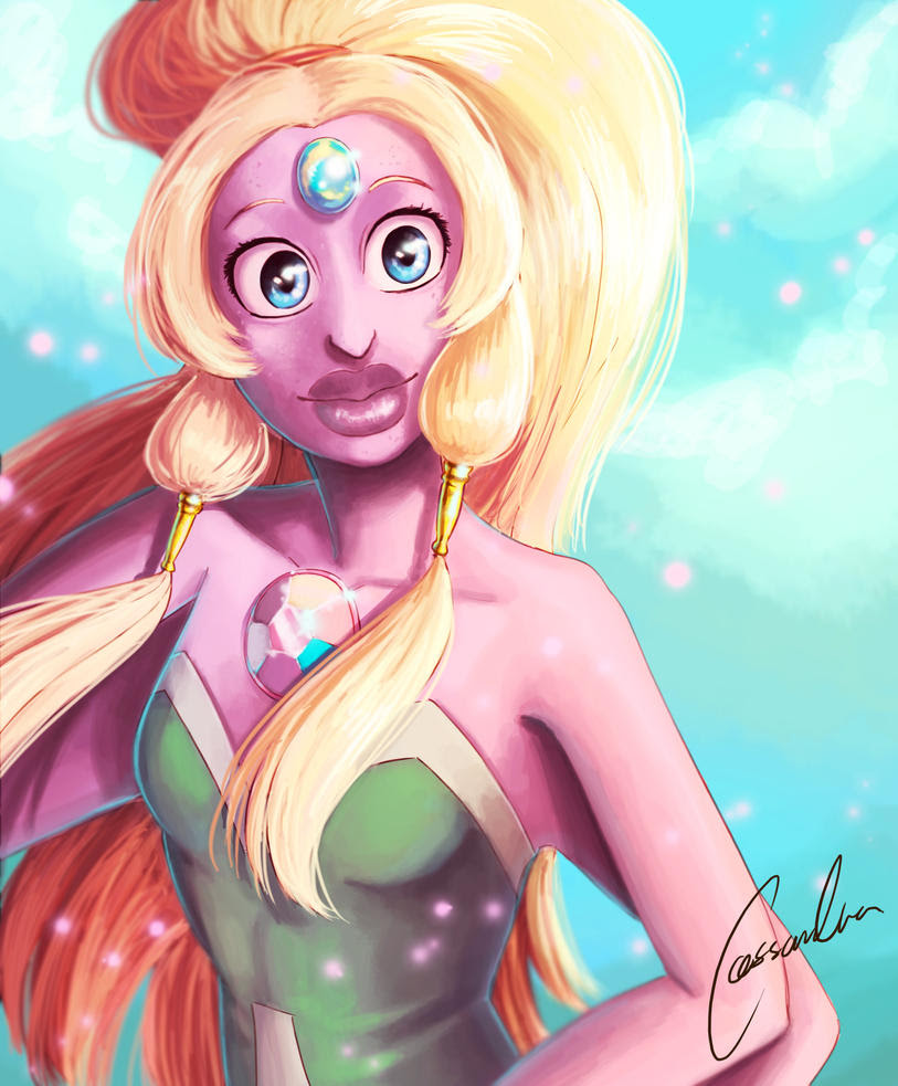 I realized Steven Universe would have my heart forever when Opal appeared the first time. This one I made for the sole purpose of making it into a timelapsvideo. Find the speedpaint here:www....