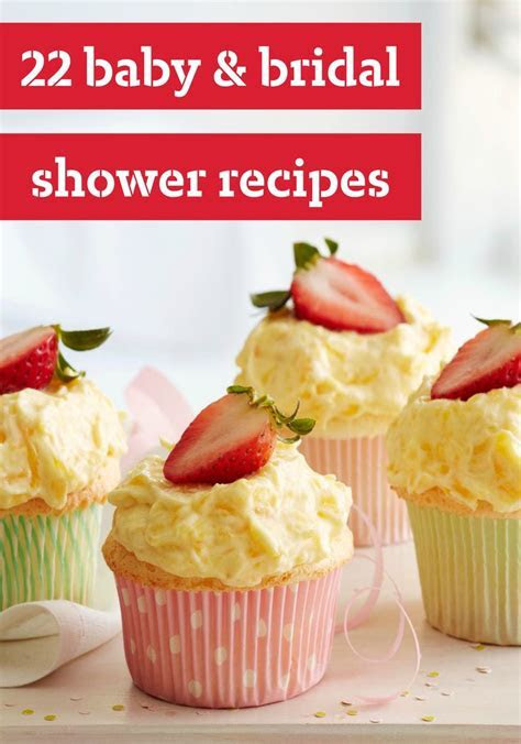 Baby & Bridal Shower Recipes    These recipes are ideal