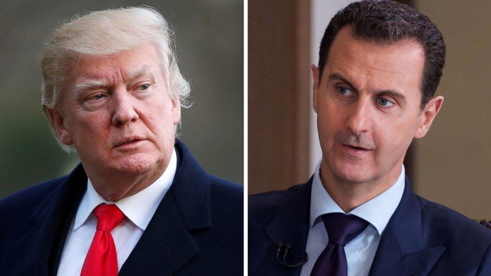 Image result for us strike syria airbase